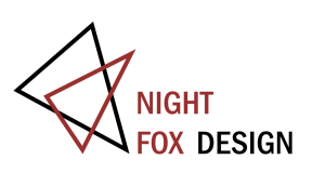 Night Fox Design Logo