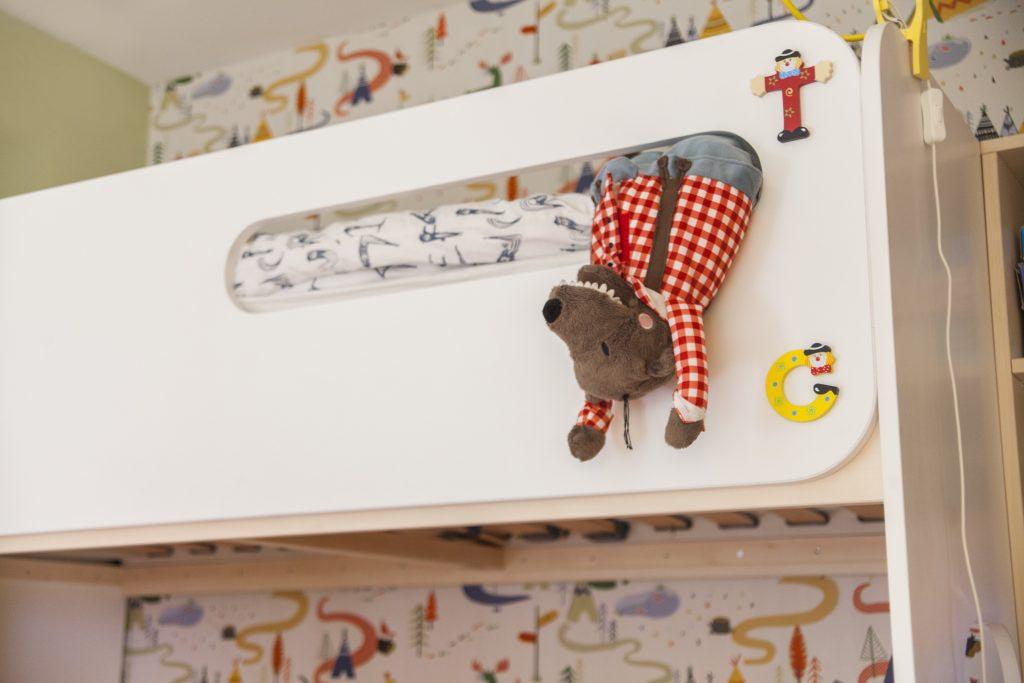 Интериорен дизайн - детска стая в бяло