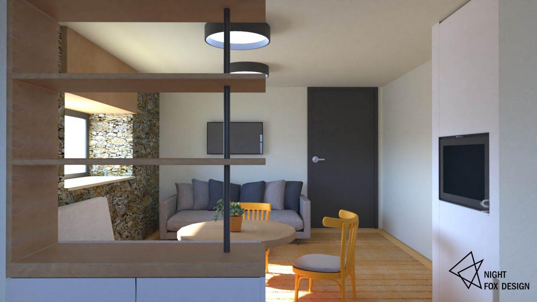 Вътрешен дизайн на къща - дневна - 3