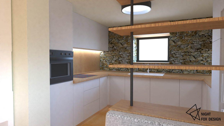 Вътрешен дизайн на къща - кухня